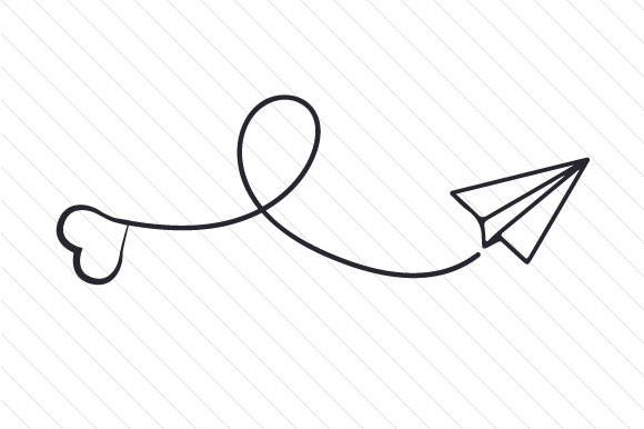 Paper Airplane Drawing Free Download On Clipartmag