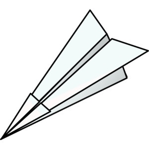 Paper Airplane Drawings