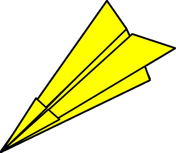 600x524 Airplane Clipart Yellow Airplane