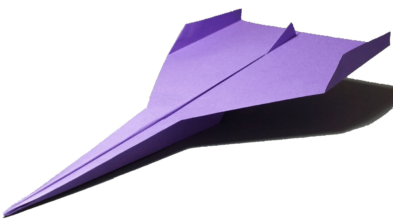 1280x720 How To Make A Paper Airplane That Flies 100 Feet