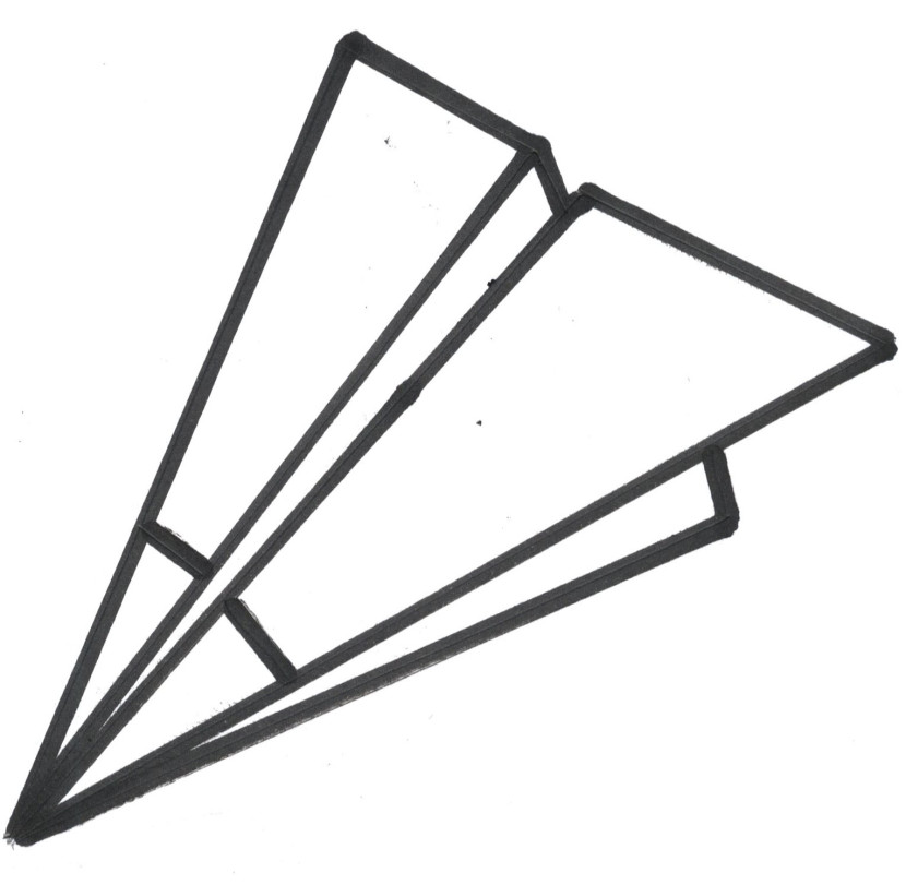 830x811 Airplane Clipart Outline