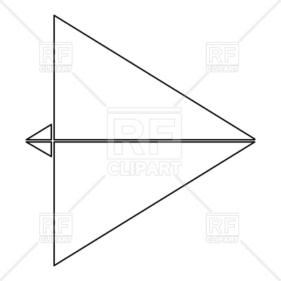 400x400 Paper Airplane