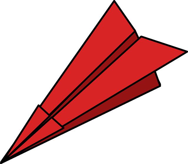 640x559 Paper Airplane Help