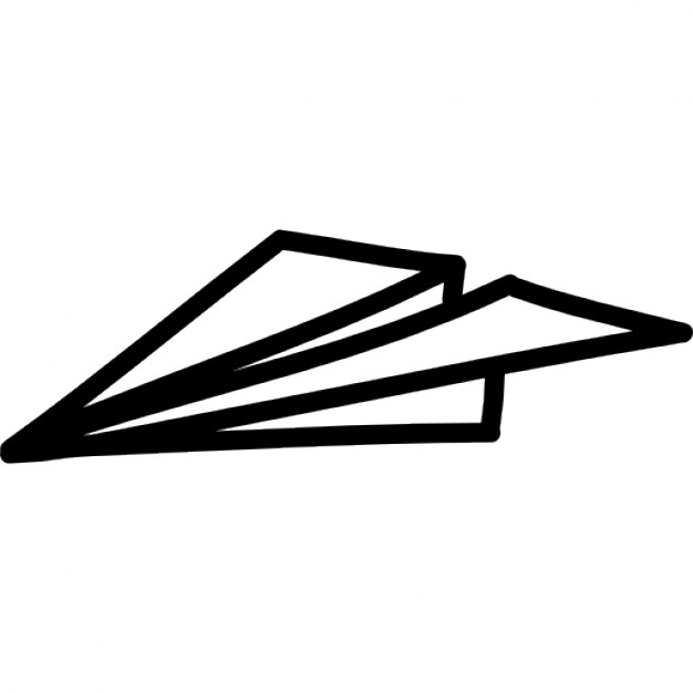 626x626 Paper Plane Hand Drawn Outline Icons Free Download