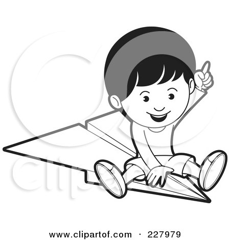 450x470 Royalty Free (Rf) Clipart Of Paper Airplanes, Illustrations