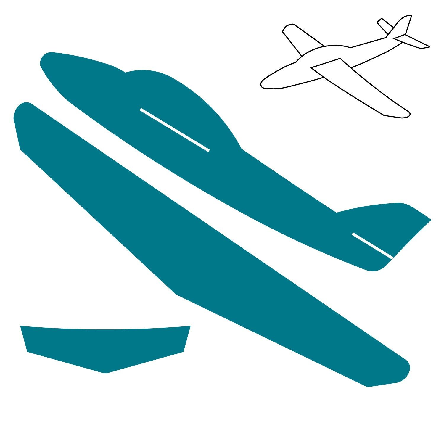 1500x1500 Cardboard Airplane Template Click On Image To Zoom Nursery