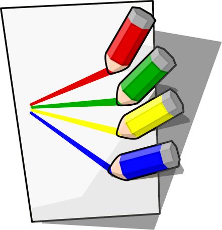 442x459 Paper And Pencil Clipart Free Download Clip Art 2