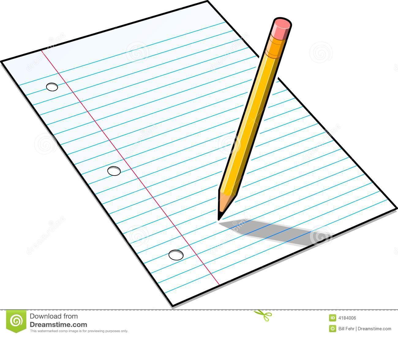 1300x1102 Pencil And Paper Clip Art