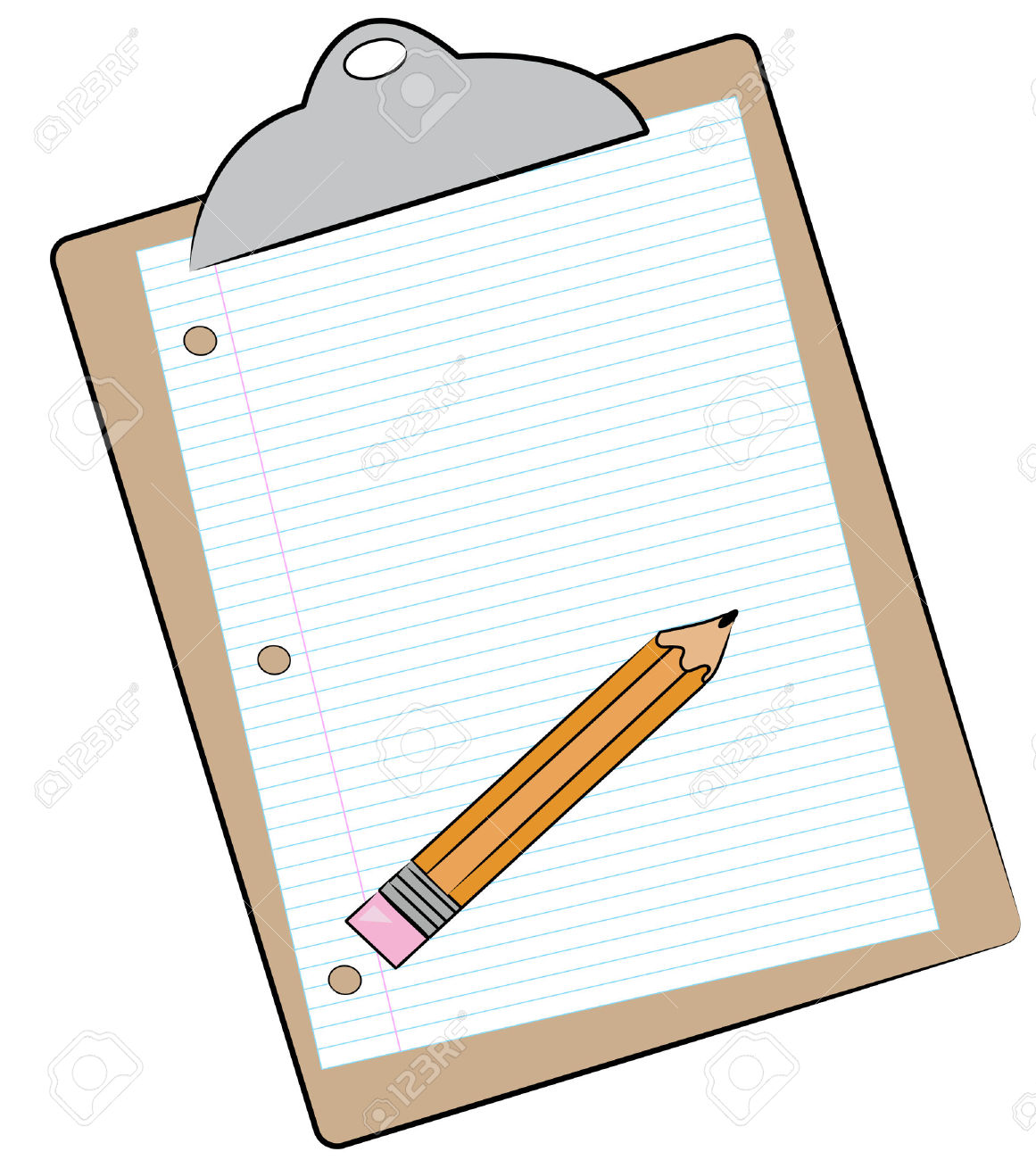 1161x1300 Clipboard And Pencil Clipart