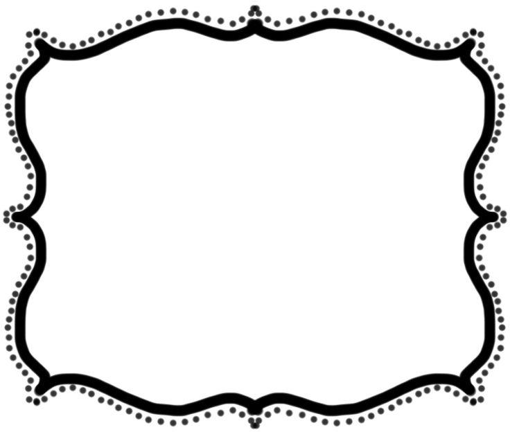 736x624 Clip Art Frames Free Clip Art Printing Digital Paper