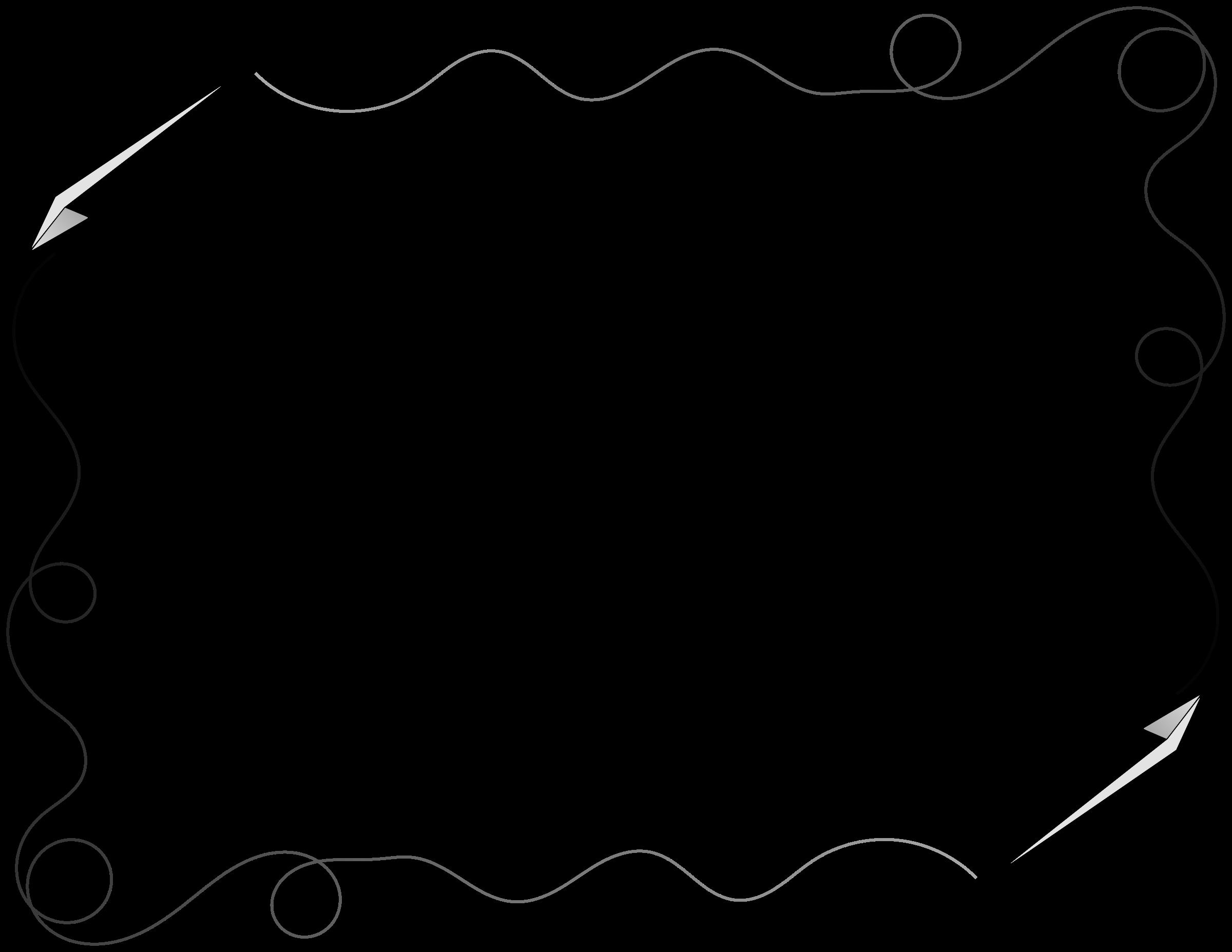 2400x1855 Free Airplane Border Clip Art