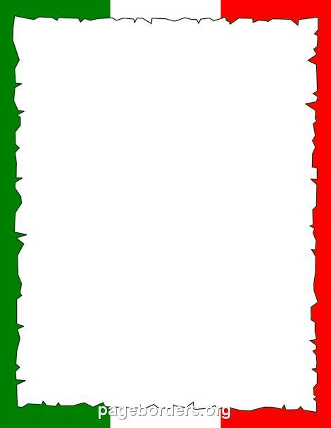 470x608 Italian Clipart Italian Clip Art Borders