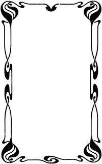 200x320 Top 69 Border Clip Art