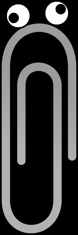 268x800 Paperclip Clip Art