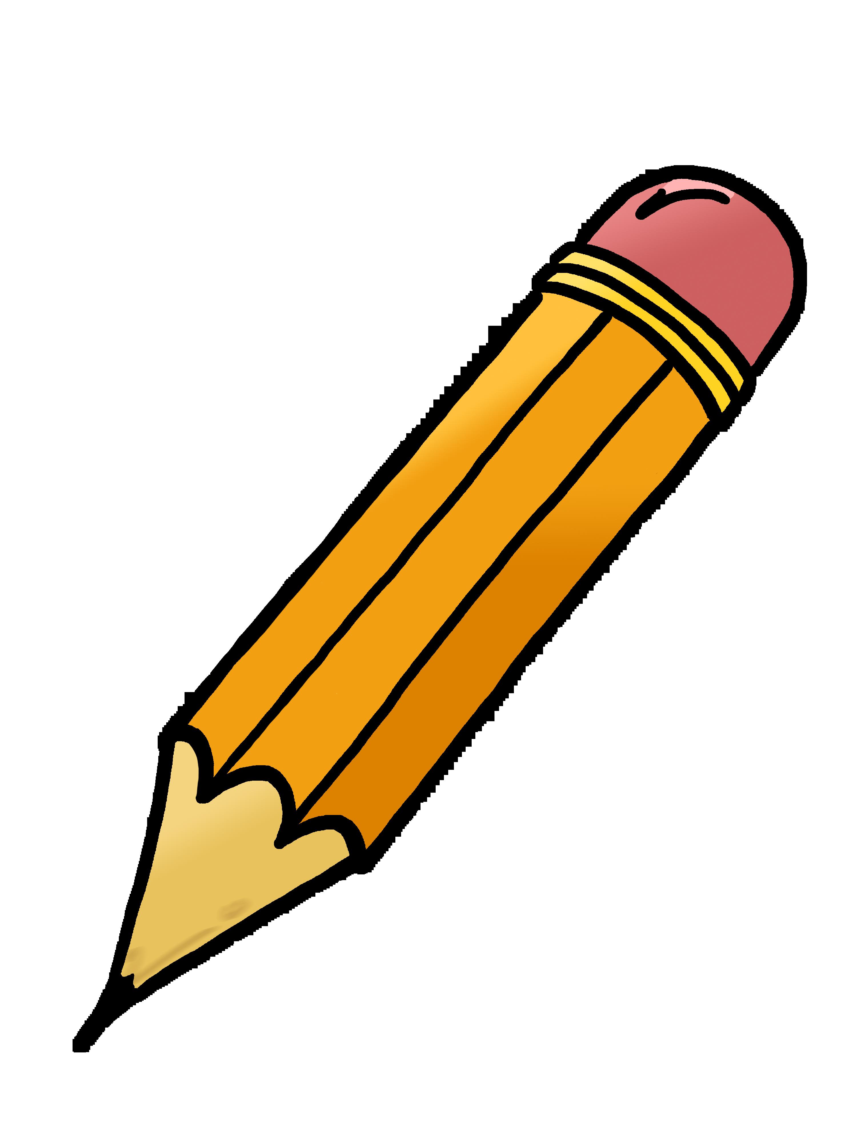3000x4000 Pencil And Paper Clip Art