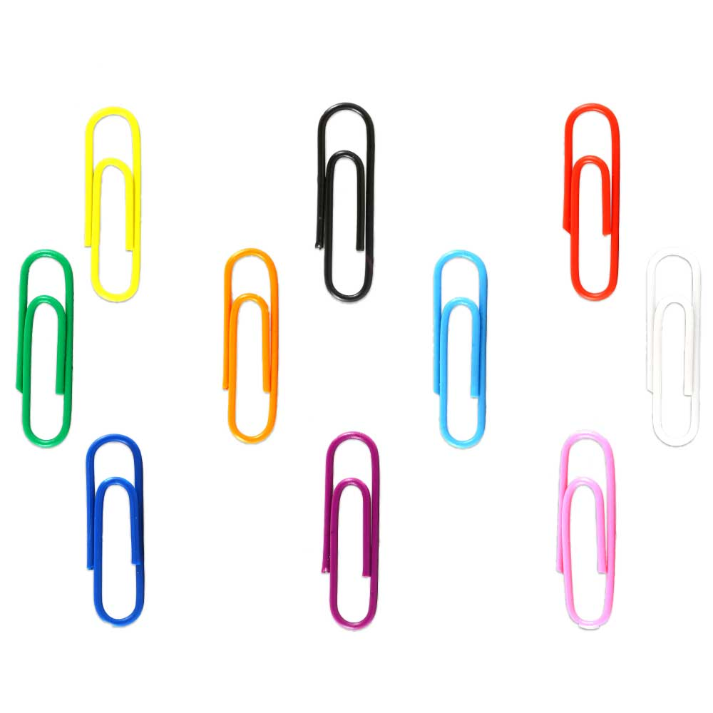 1000x1000 Colored Paper Clips Jam Paper