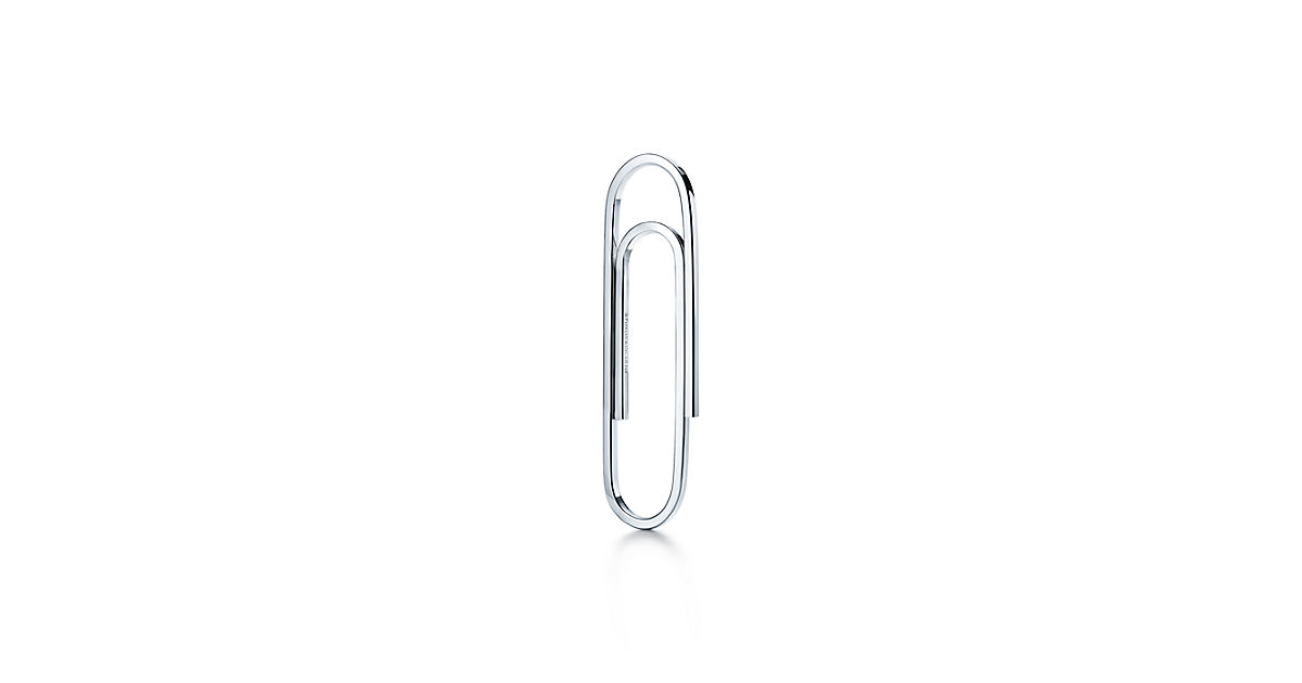 1200x630 Paper Clip Bookmark In Sterling Silver. Tiffany Amp Co.