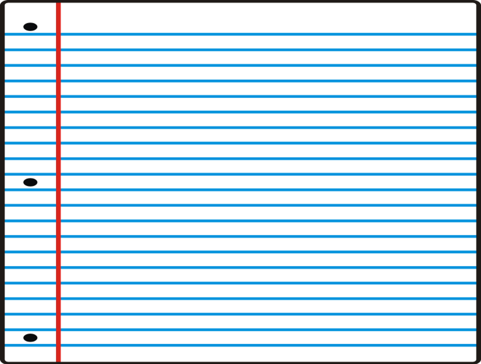 1580x1198 Lined Paper Clipart Free Images 9