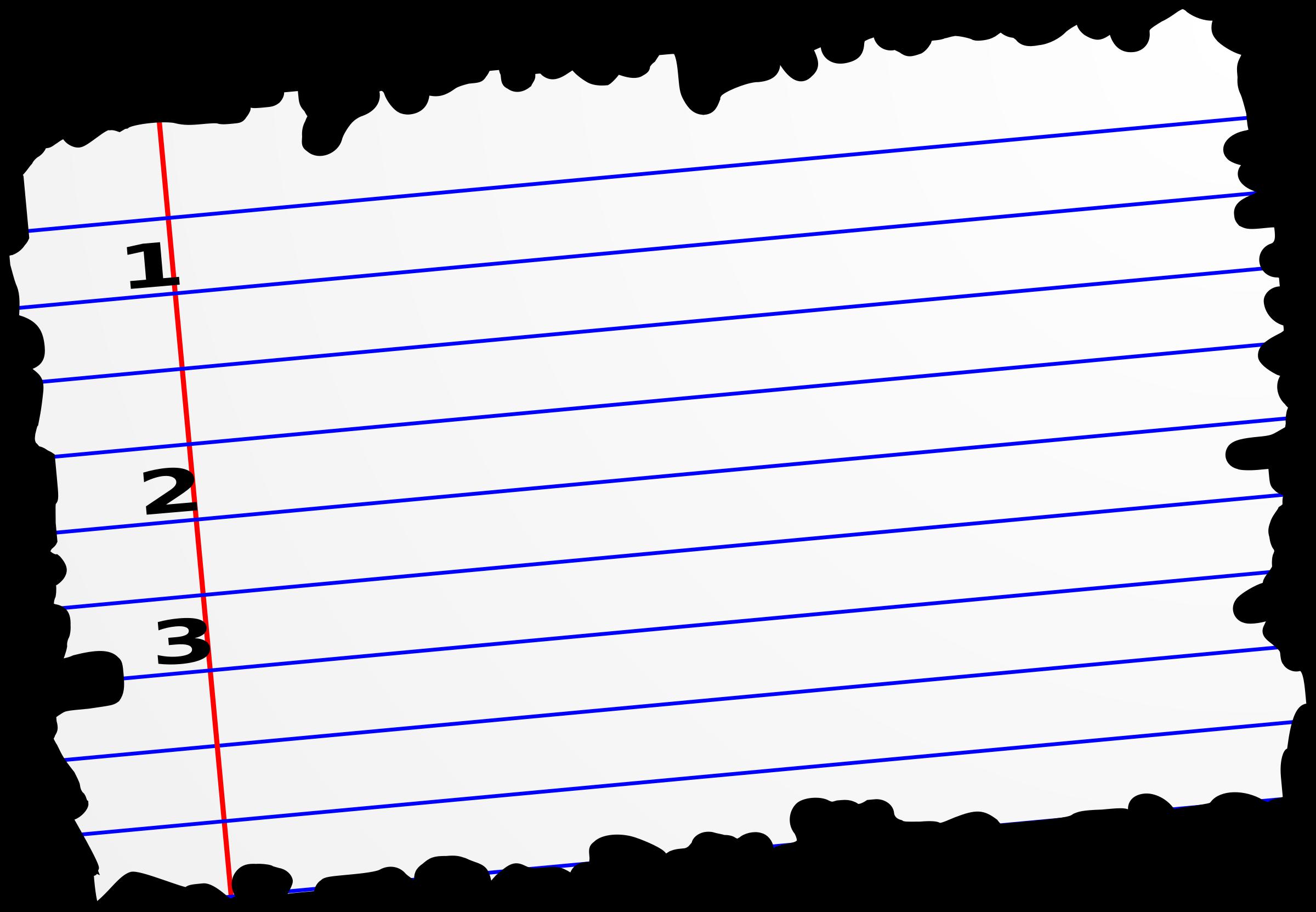 2400x1663 Paper Clipart Torn Paper