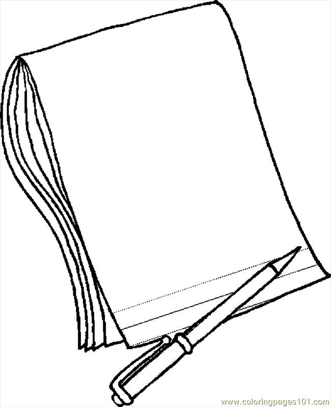 650x799 Pencil And Paper Clipart Black And White Letters Example