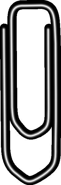 198x599 Paperclip Clip Art
