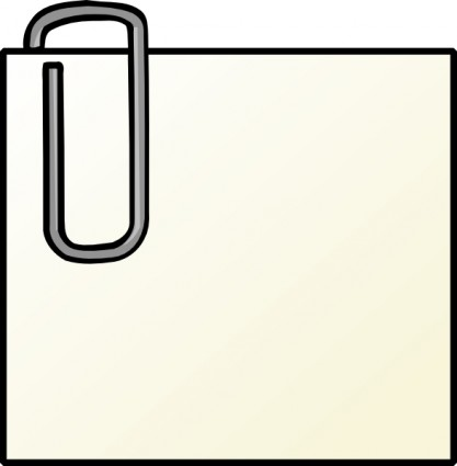 417x425 Post It Clipart Notepaper