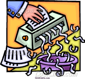 300x280 Paper Shredder Vector Clip Art