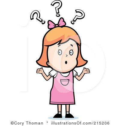 400x420 Confused Clipart