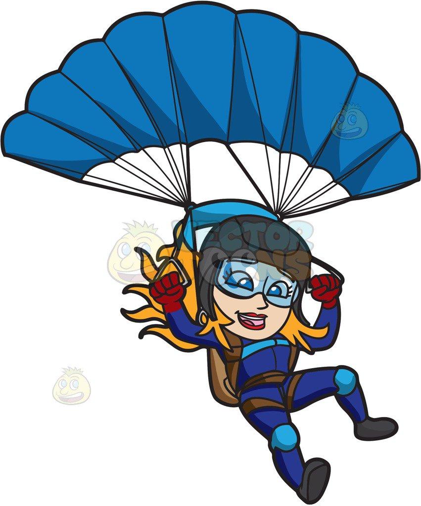Parachuting Cliparts