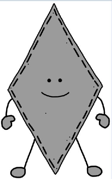 377x600 Rhomb Clipart