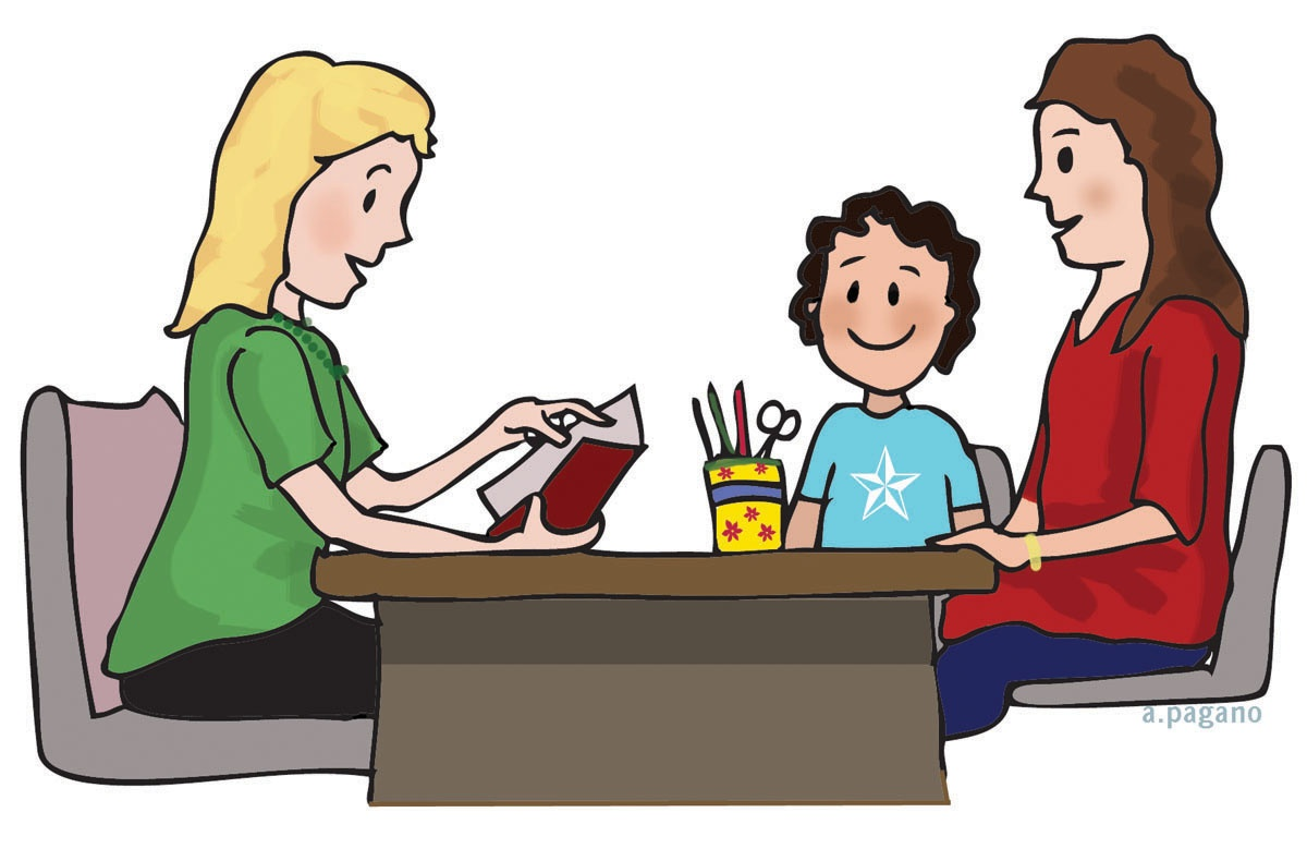 1200x790 Parent Conference Clipart