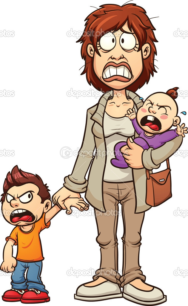 630x1023 Single Clipart Single Parent Family