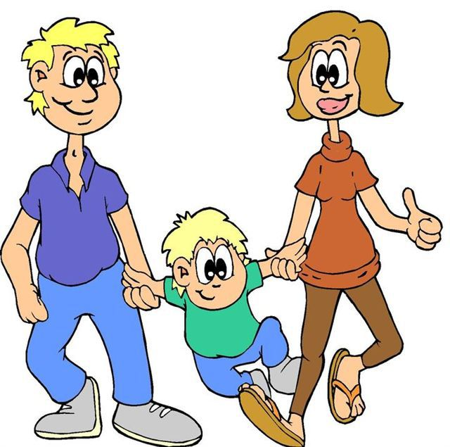 640x635 Clip Art Parents Cartoon Image
