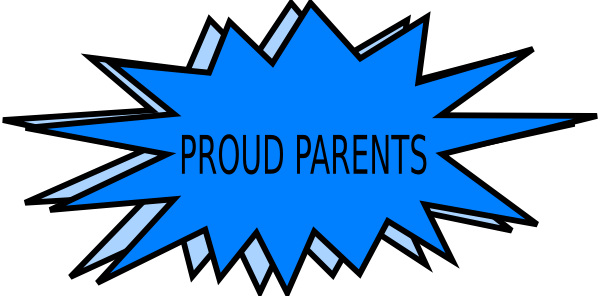600x296 Proud Parents Clip Art