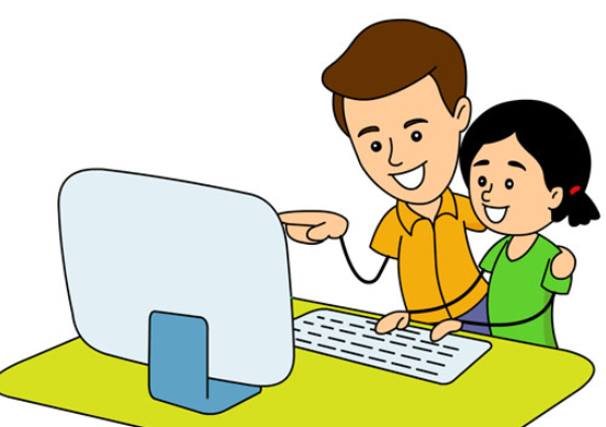 552x389 Computer Clipart Parent