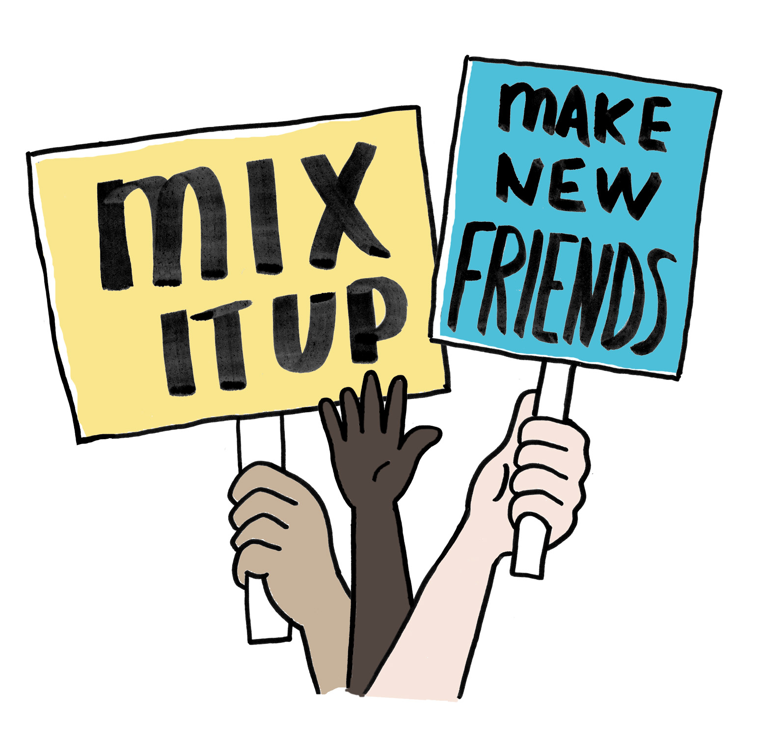 1554x1500 Meeting New People Clipart