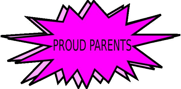 600x296 Proud Parents Clip Art