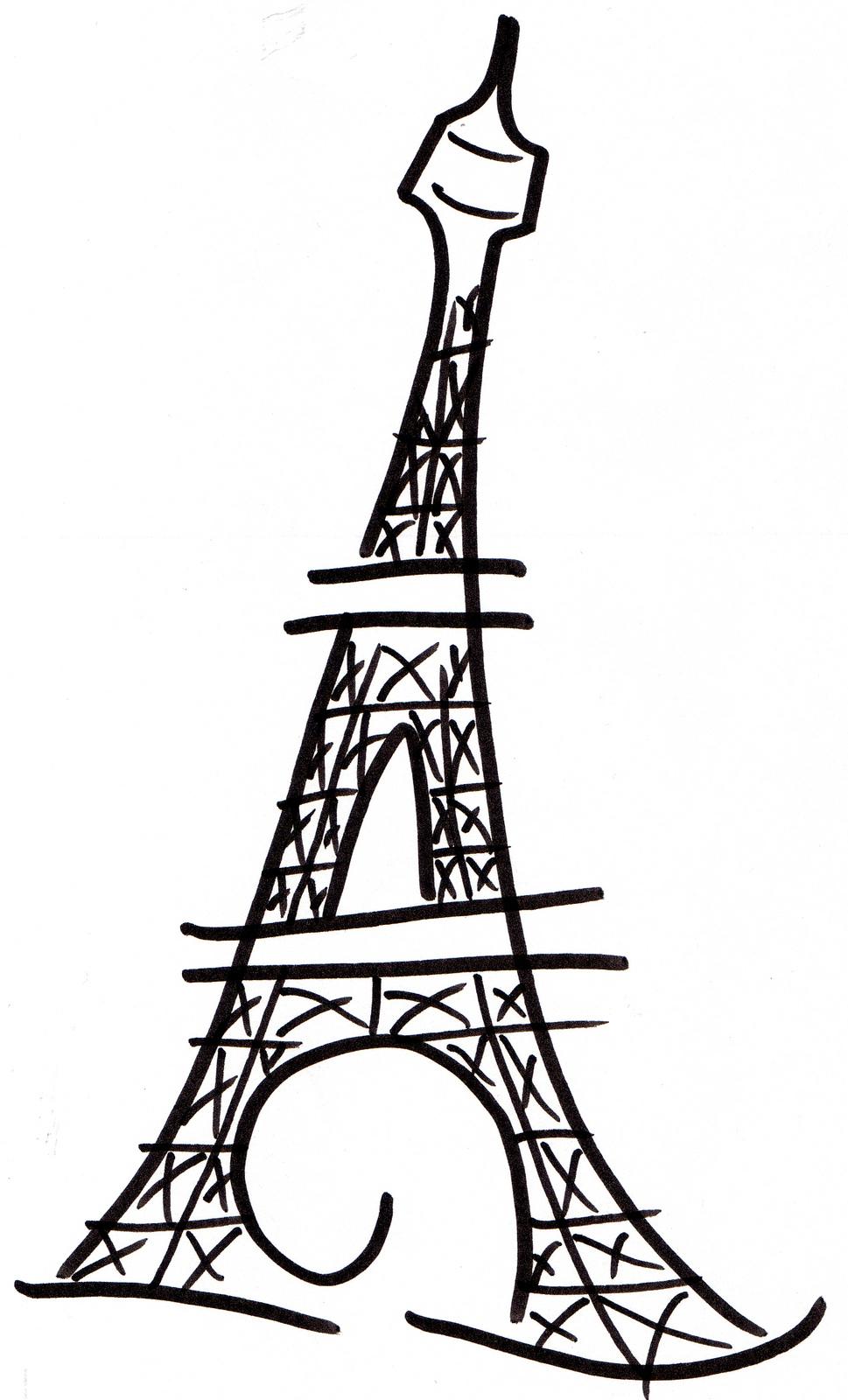 969x1600 Eiffel Tower Art On Paris And Tour Eiffel Clipart