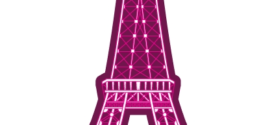 272x125 Eiffel Tower Art Paris Paris Art And Tour Eiffel Clipart