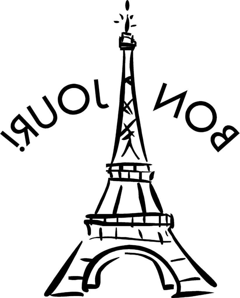 823x1024 Simple Eiffel Tower Drawing Simple Eiffel Tower Drawing Clipart