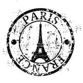 170x170 Paris Clipart Paris Eiffel Tower France Wall Art Sticker Wall