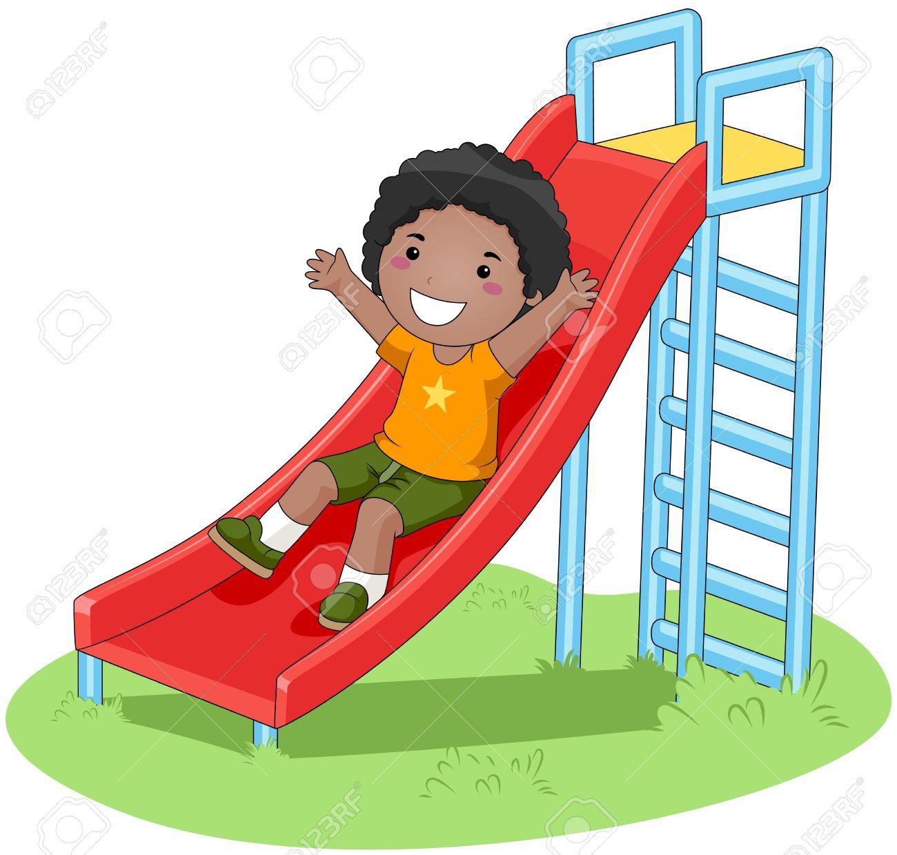1300x1239 Park Clipart Playground Slide