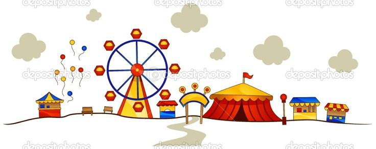 736x293 Amusement Park Clipart Ammusement