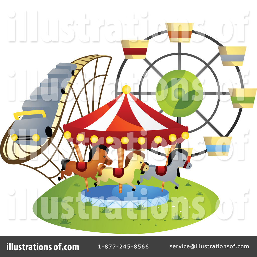 1024x1024 Amusement Park Clipart