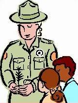 161x213 Free Park Ranger Clipart