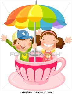 236x308 Funland Amusement Park Clipart Digital Clipart Amp Paper