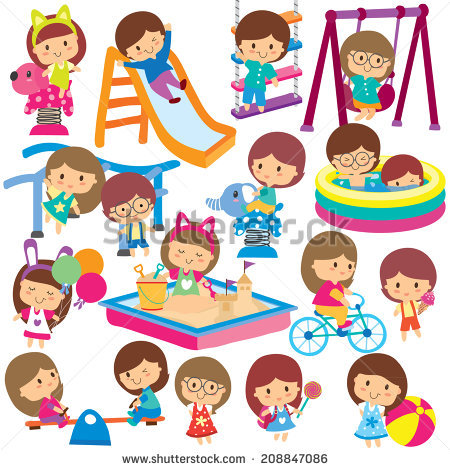 450x470 Playground Clipart Kids Park
