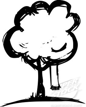 282x350 Park Black And White Clipart