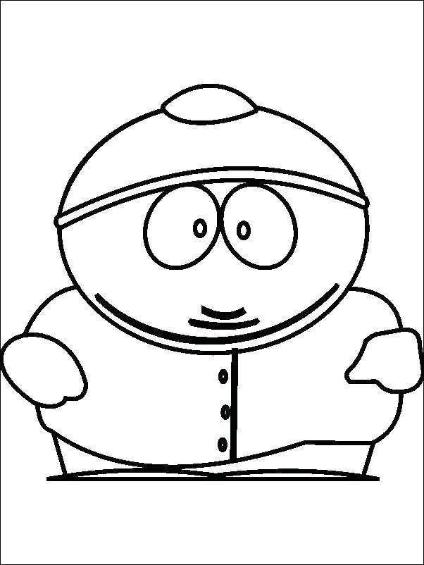 602x802 South Park Coloring Pages To Print Clip Art Thaypiniphone