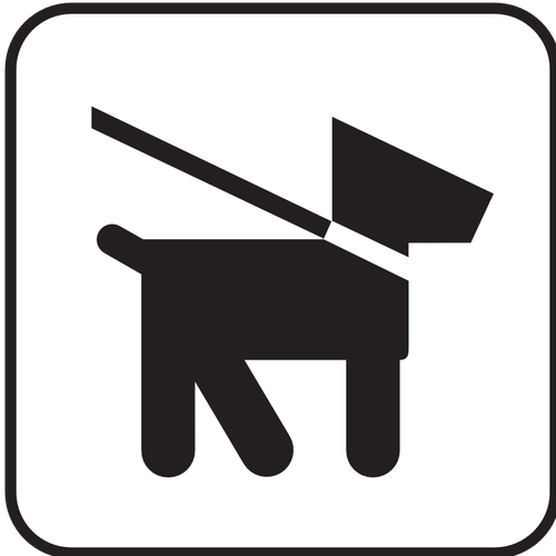 500x500 Us National Park Maps Pictogram Allowing Dog Walks On Lead Only